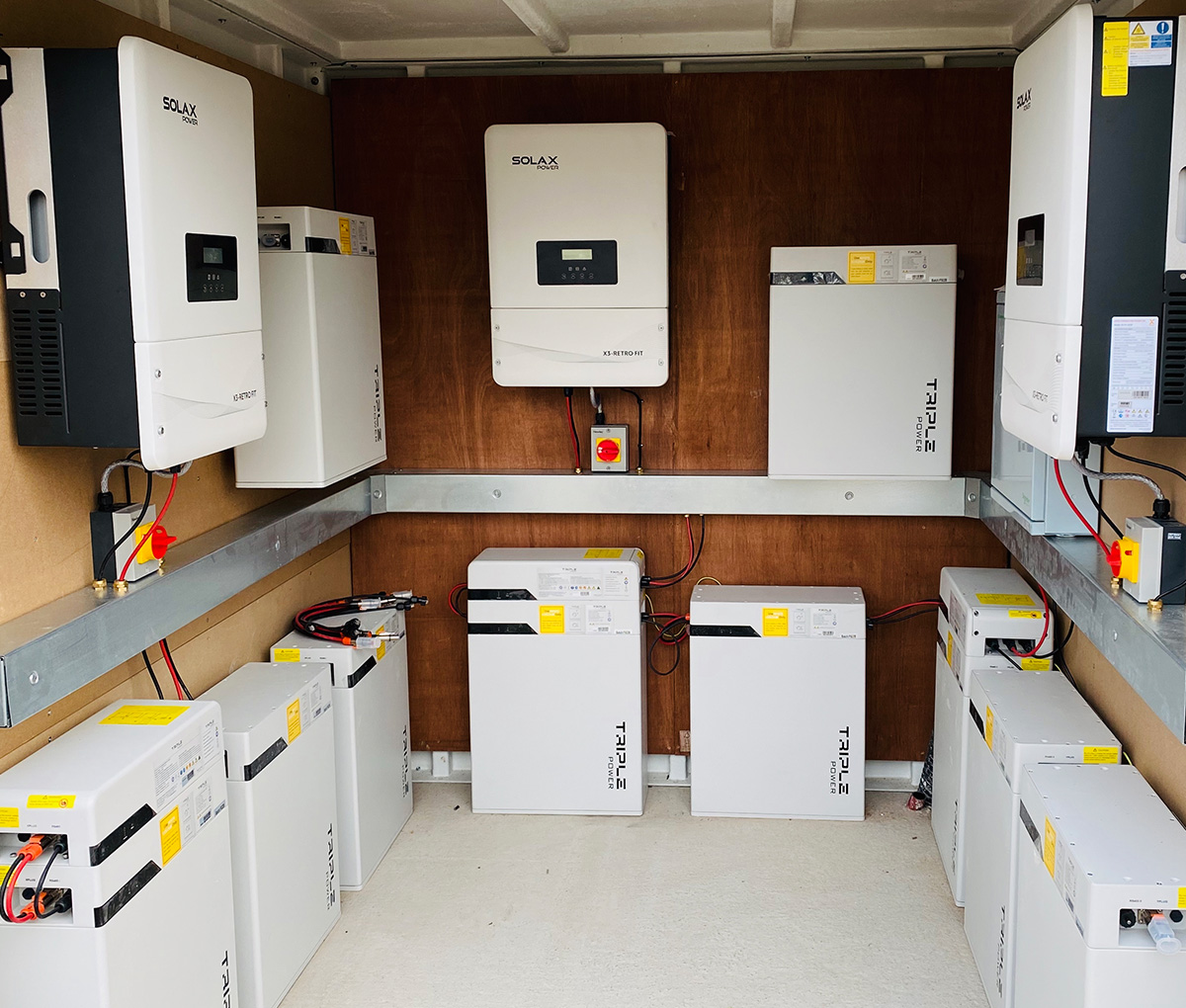 battery storage systems installed across Scotland