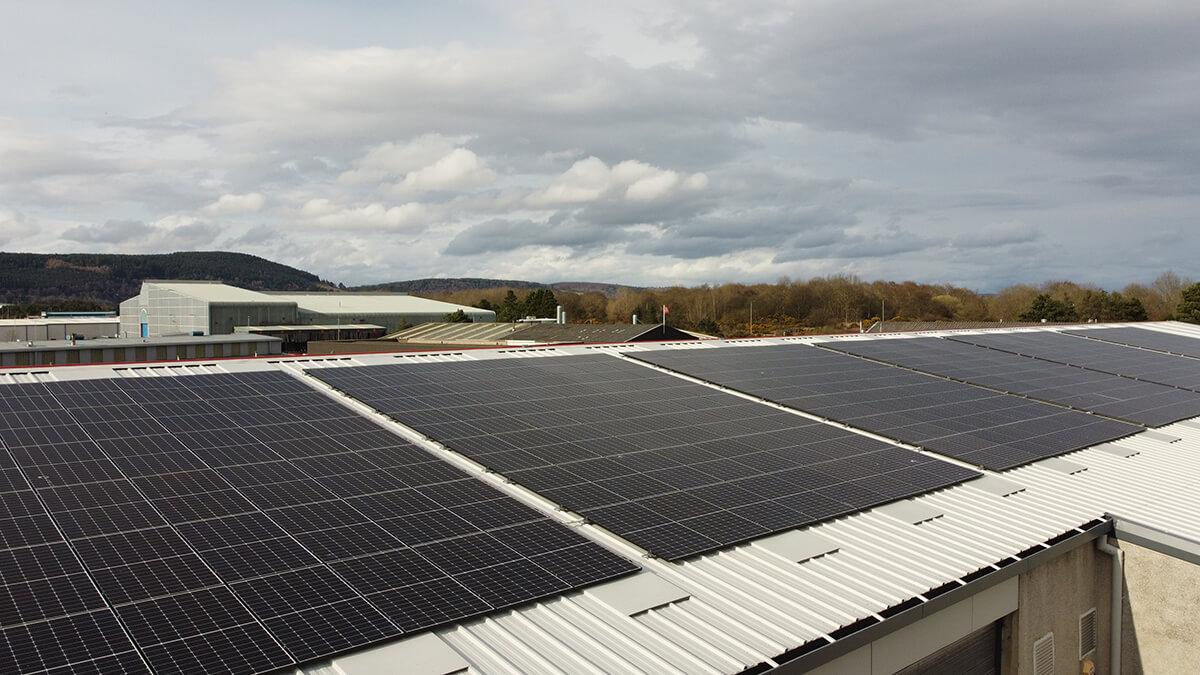 Inverness Solar Panel Install